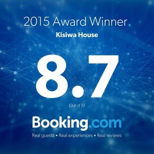 BOOKING.COM CERTIFICATE OF EXCELLENCE