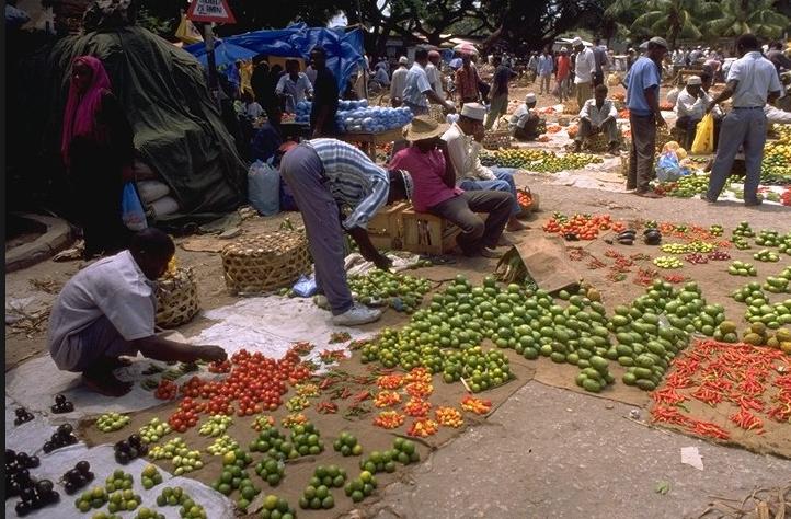 Fruit markt Stone Town